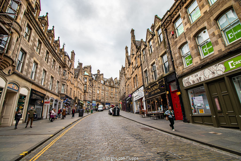 Cockburn Street, Edimburgo