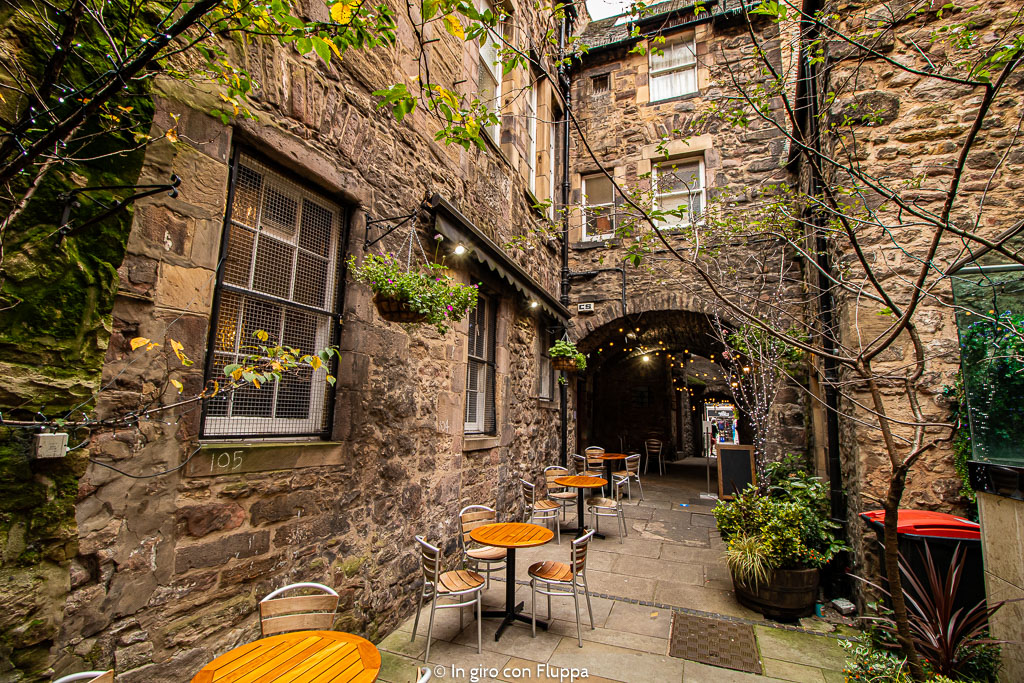 Edimburgo, Brodie's Close