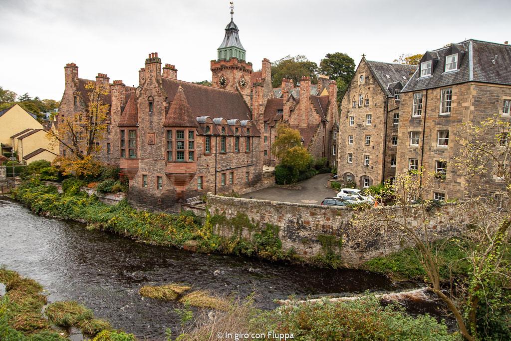 Dean Village, nei dintorni di Edimburgo