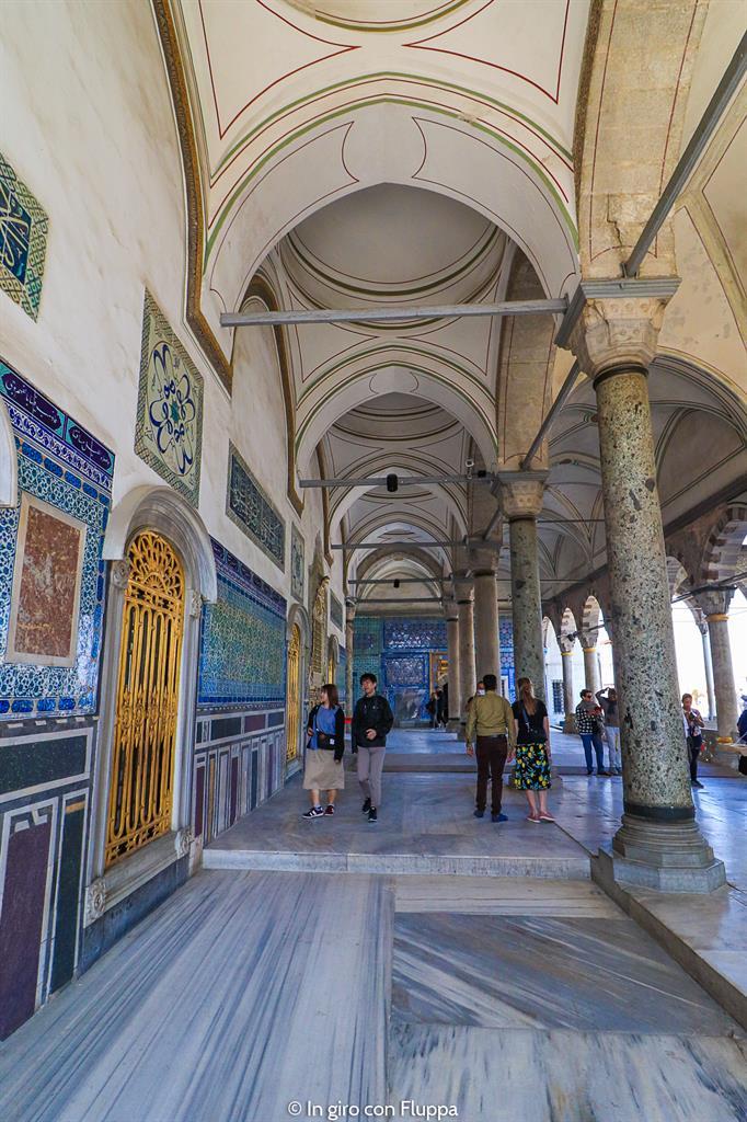 Istanbul, itinerario del quartiere antico: Palazzo Topkapi