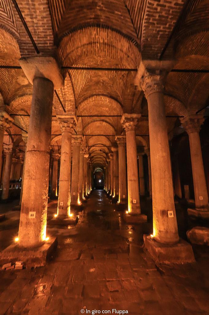 Istanbul, itinerario del quartiere antico: Basilica Cisterna