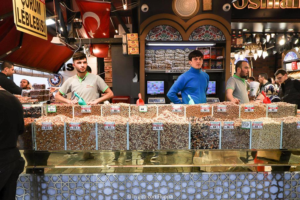 Istanbul, itinerario del quartiere antico: Bazar delle Spezie