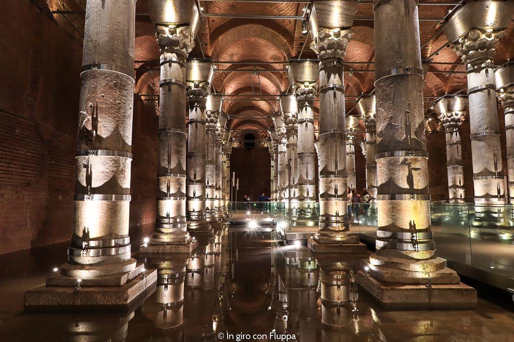 Istanbul, itinerario del quartiere antico: Cisterna di Teodosio