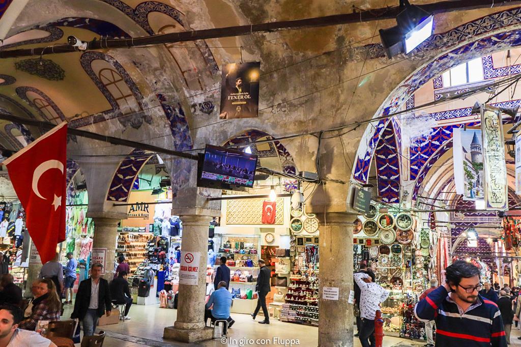 Istanbul, itinerario del quartiere antico: Gran Bazar
