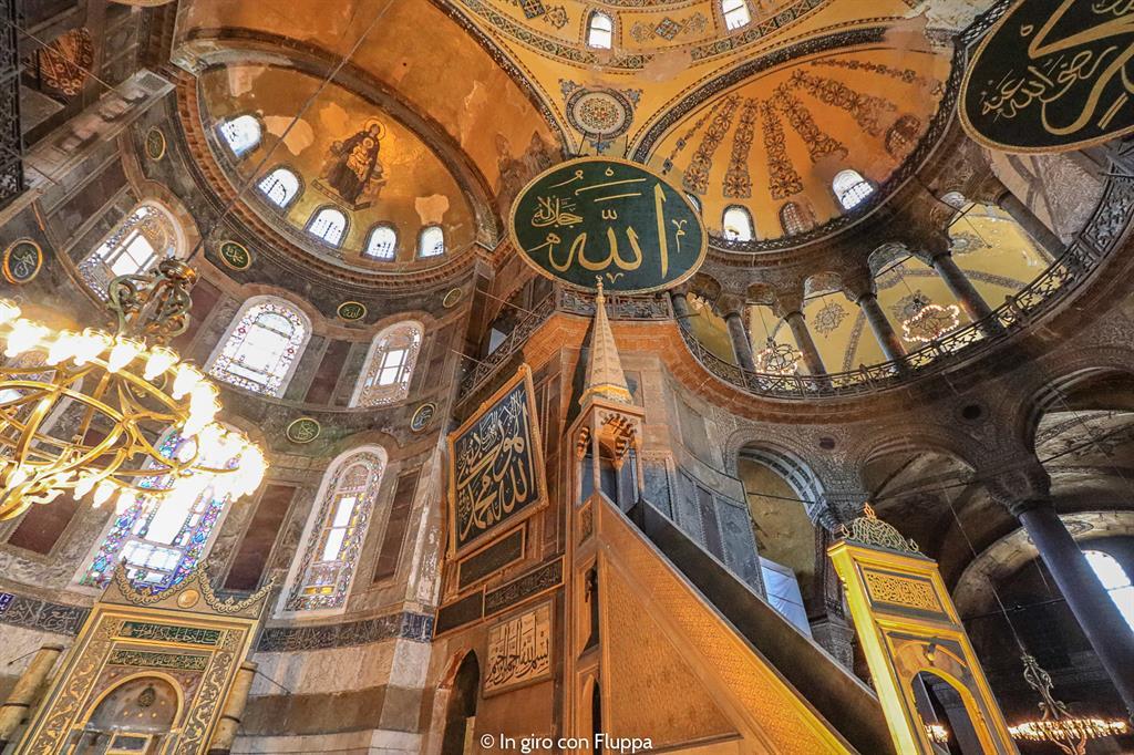 Istanbul, itinerario del quartiere antico: Hagia Sophia