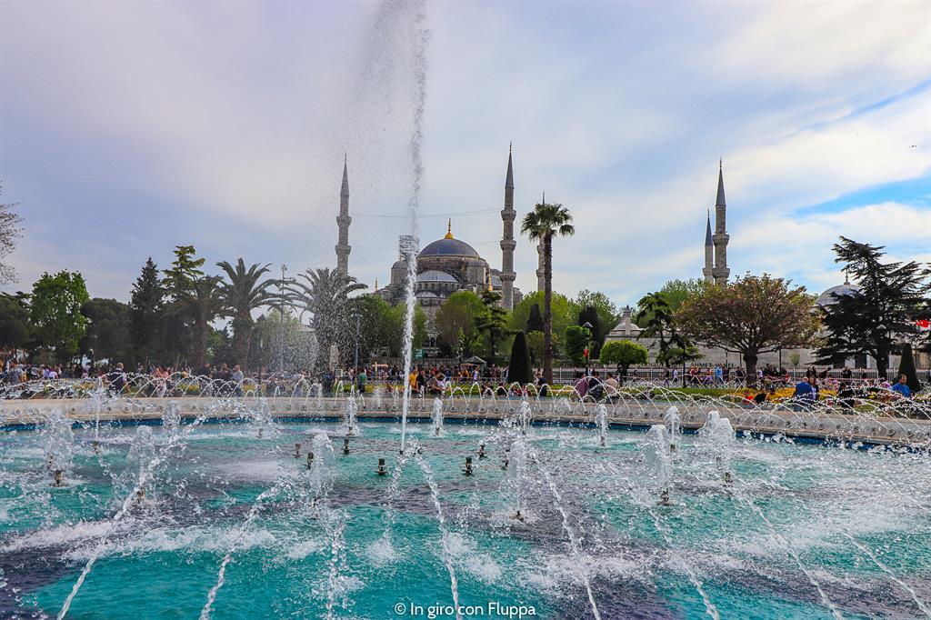 Istanbul, itinerario del quartiere antico: Moschea Blu