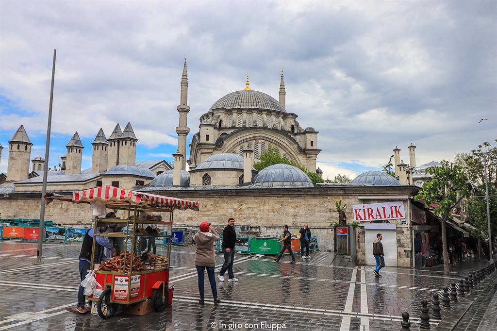 Istanbul, itinerario del quartiere antico: Moschea della luce di Osman