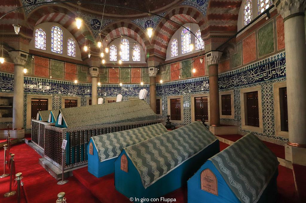 Istanbul, itinerario del quartiere antico: Moschea di Solimano il Magnifico
