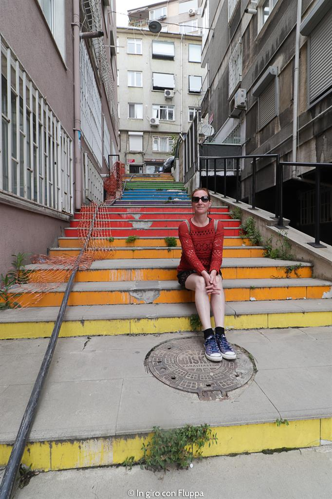 Istanbul, Rainbow stairs
