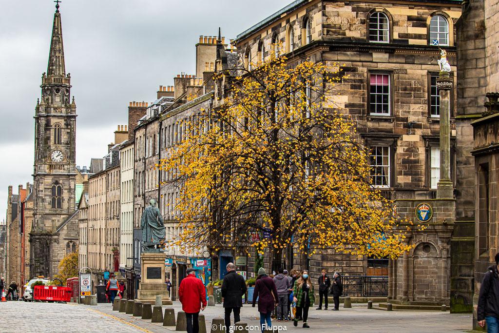 Foliage a Edimburgo: dove vedere i colori autunnali