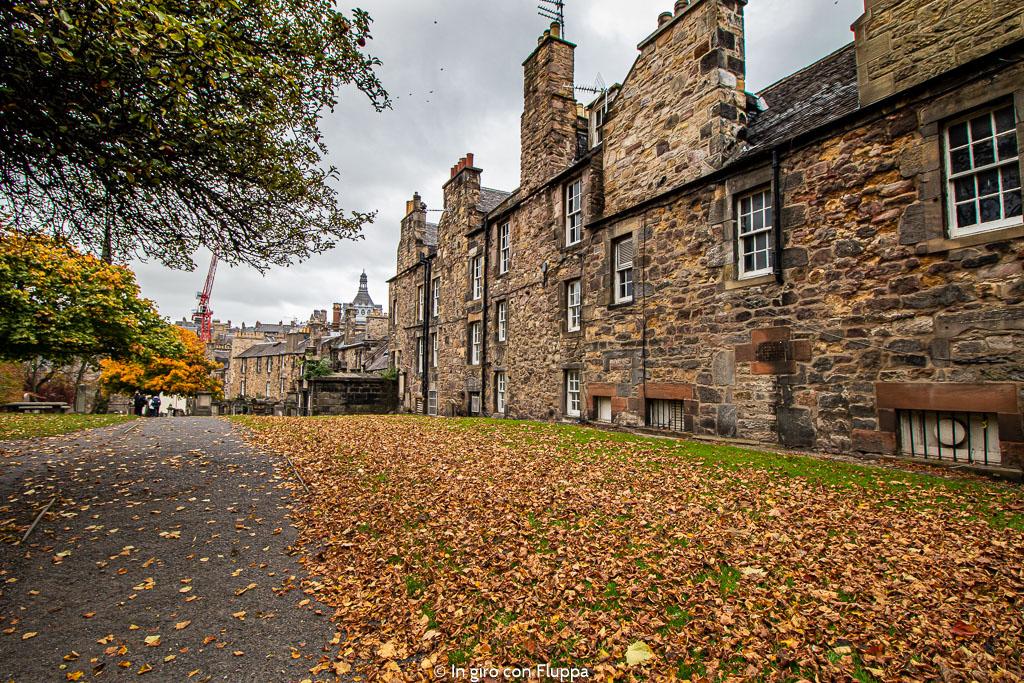 Dove vedere il fogliage a Edimburgo: il Greyfriars Kirkyard