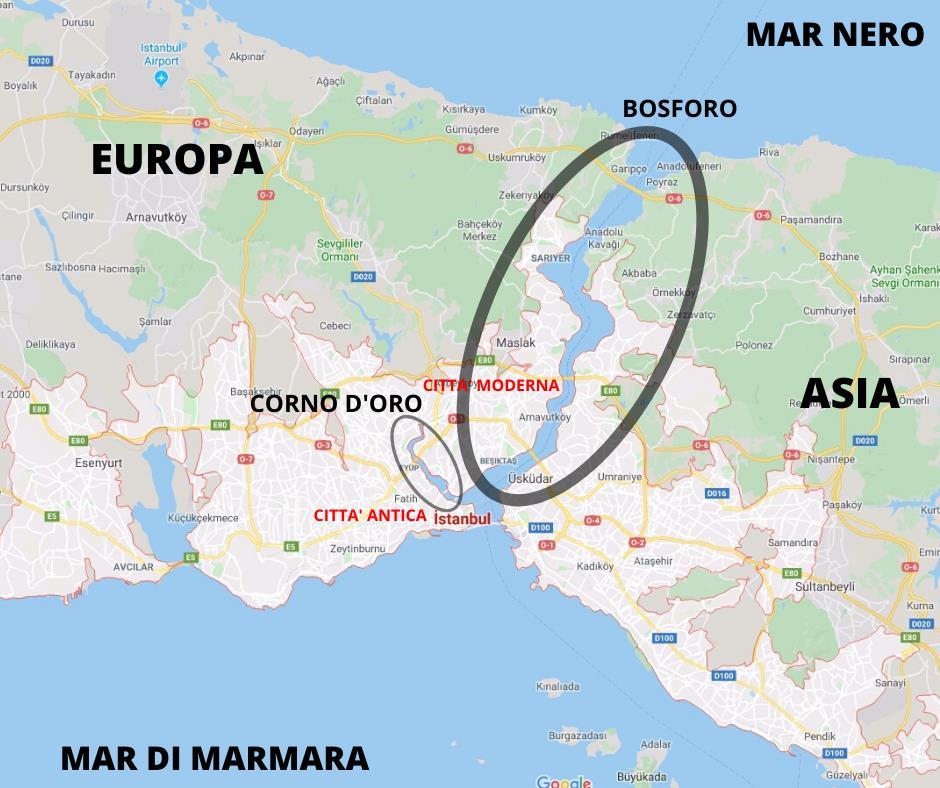 Mappa Istanbul