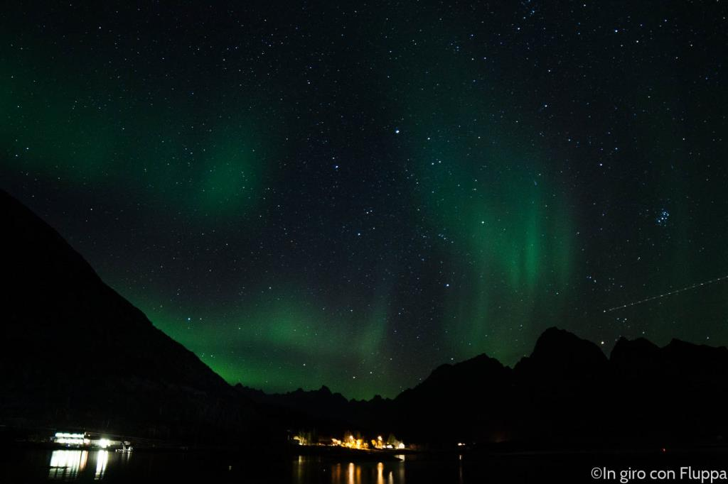 Lofoten Islands - Vaterfjord, Northern Lights