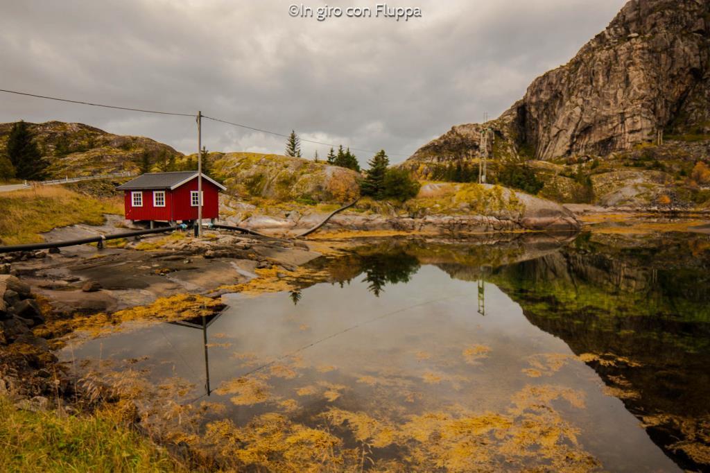 Isole Lofoten - Strada per Henningsvær