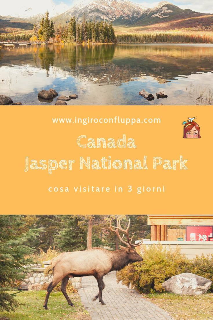 Jasper National Park. Salva la foto su Pinterest!