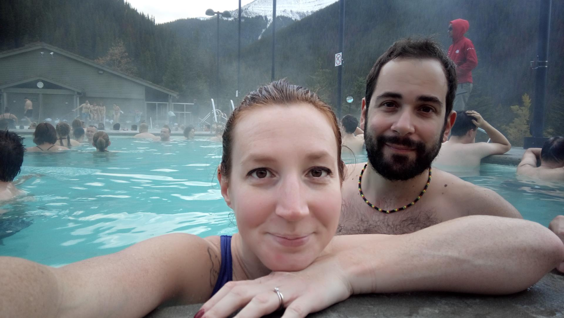 Jasper National Park - Miette hot springs