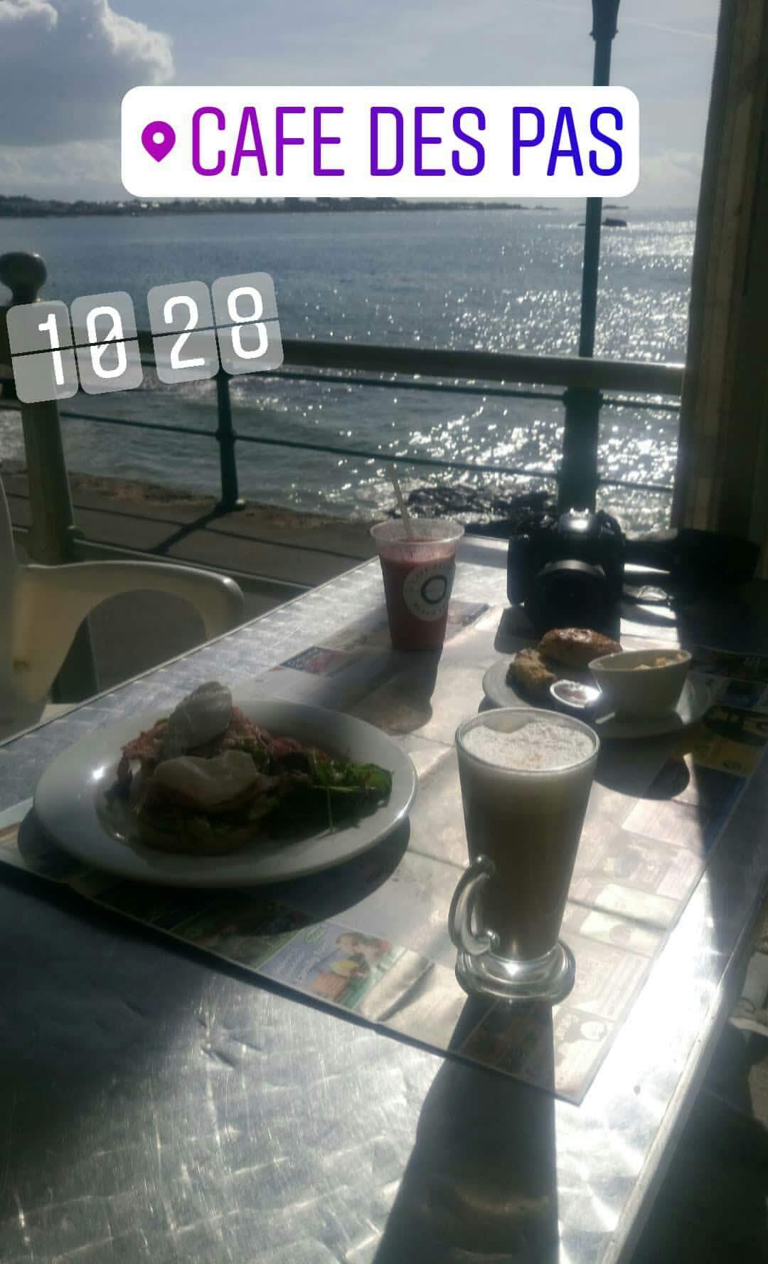Cosa mangiare a Jersey: colazione vista mare