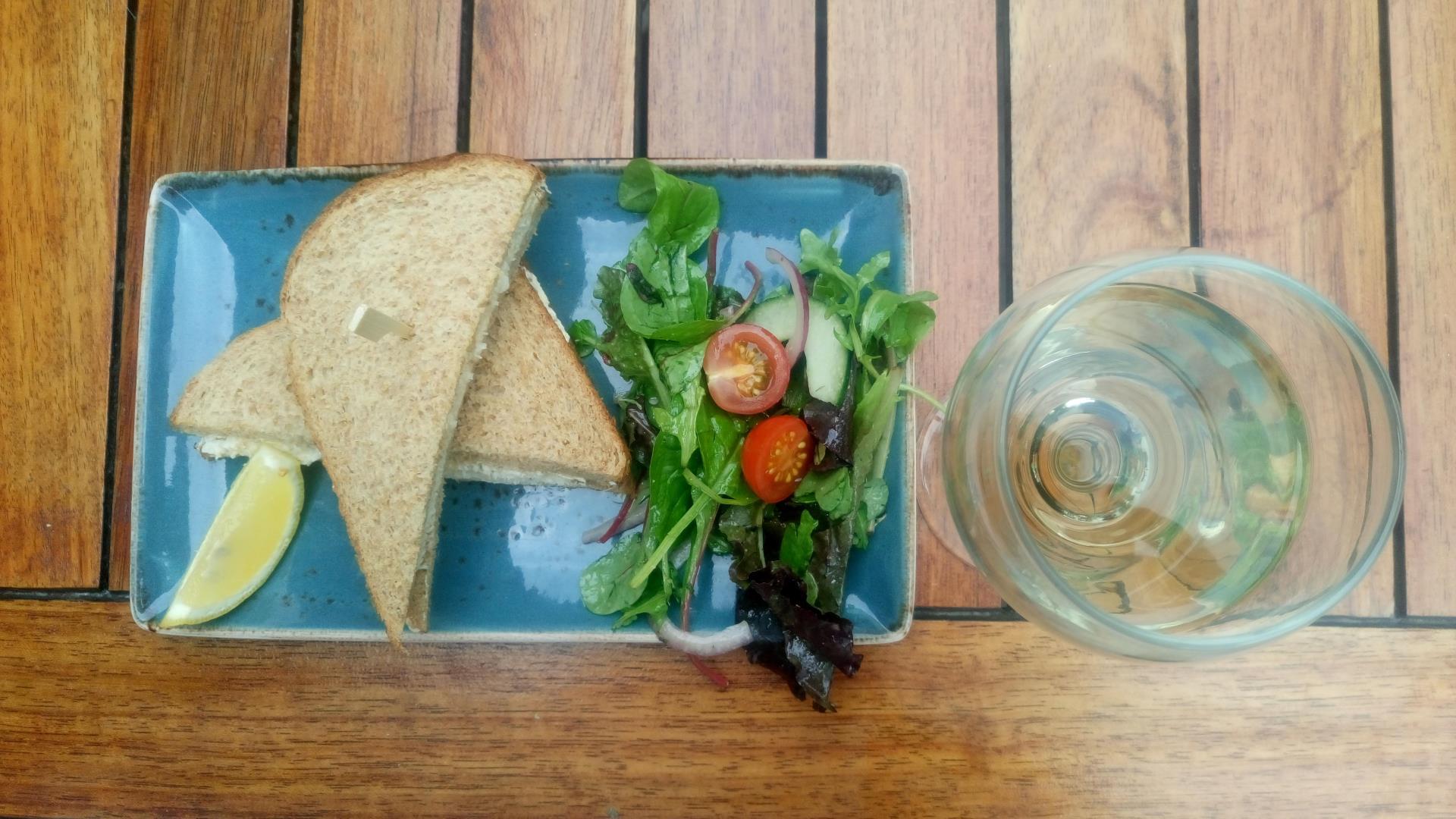Cosa mangiare a Jersey: sandwich di granchio