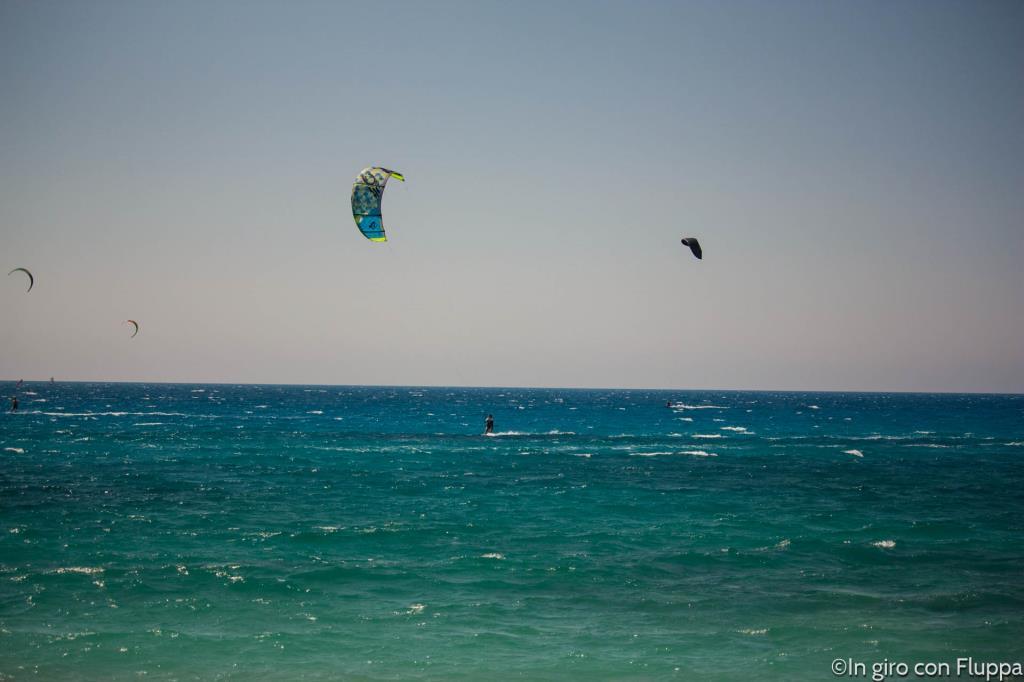 Kitesurf a Milos Beach