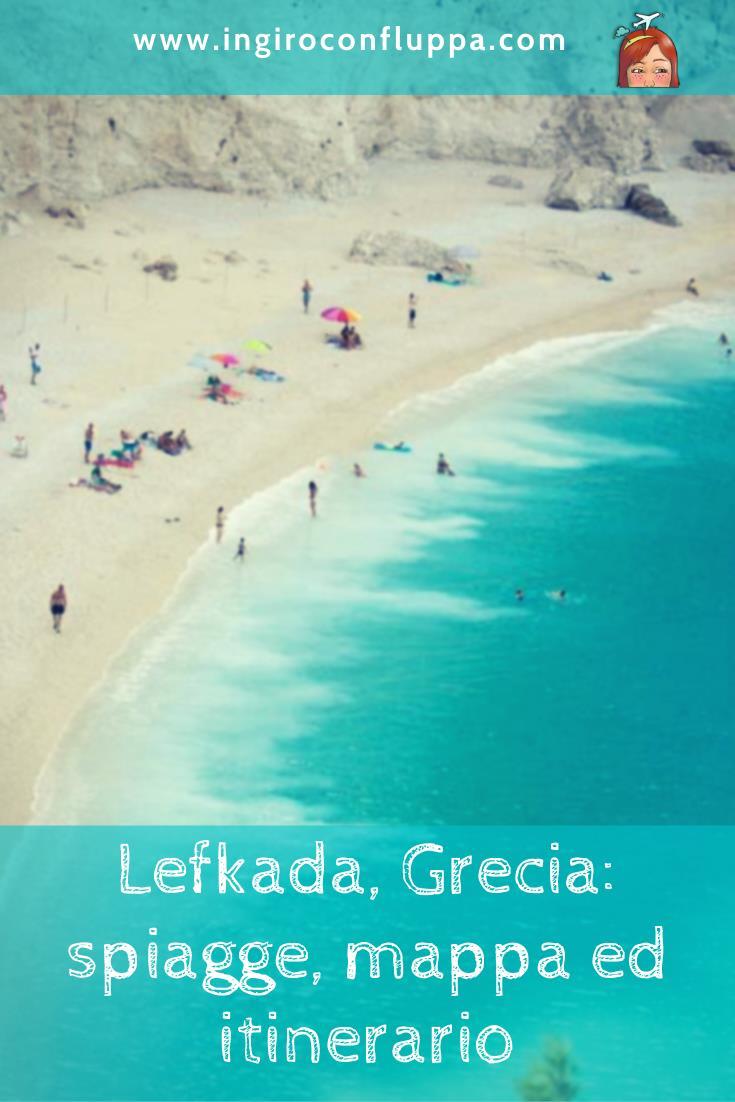 Lefkada, Grecia: spiagge, mappa ed itinerario. Salva su Pinterest!