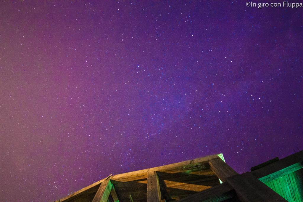 Cielo stellato a Ligia