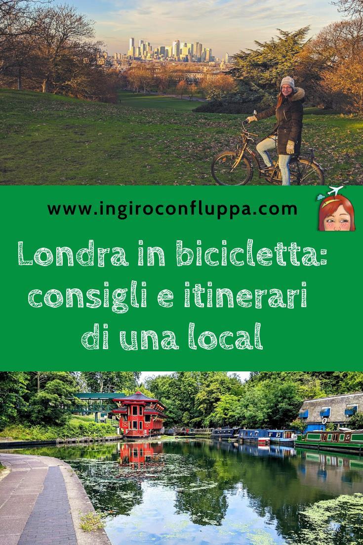 Londra in bicicletta: consigli e itinerari di una local