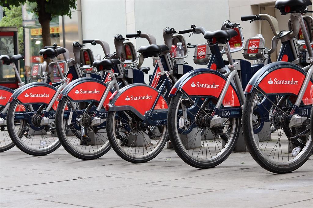 Bike sharing: le biciclette Santander