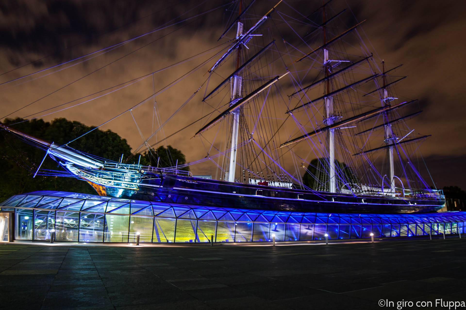 Itinerario 2: il Cutty Sark a Greenwich
