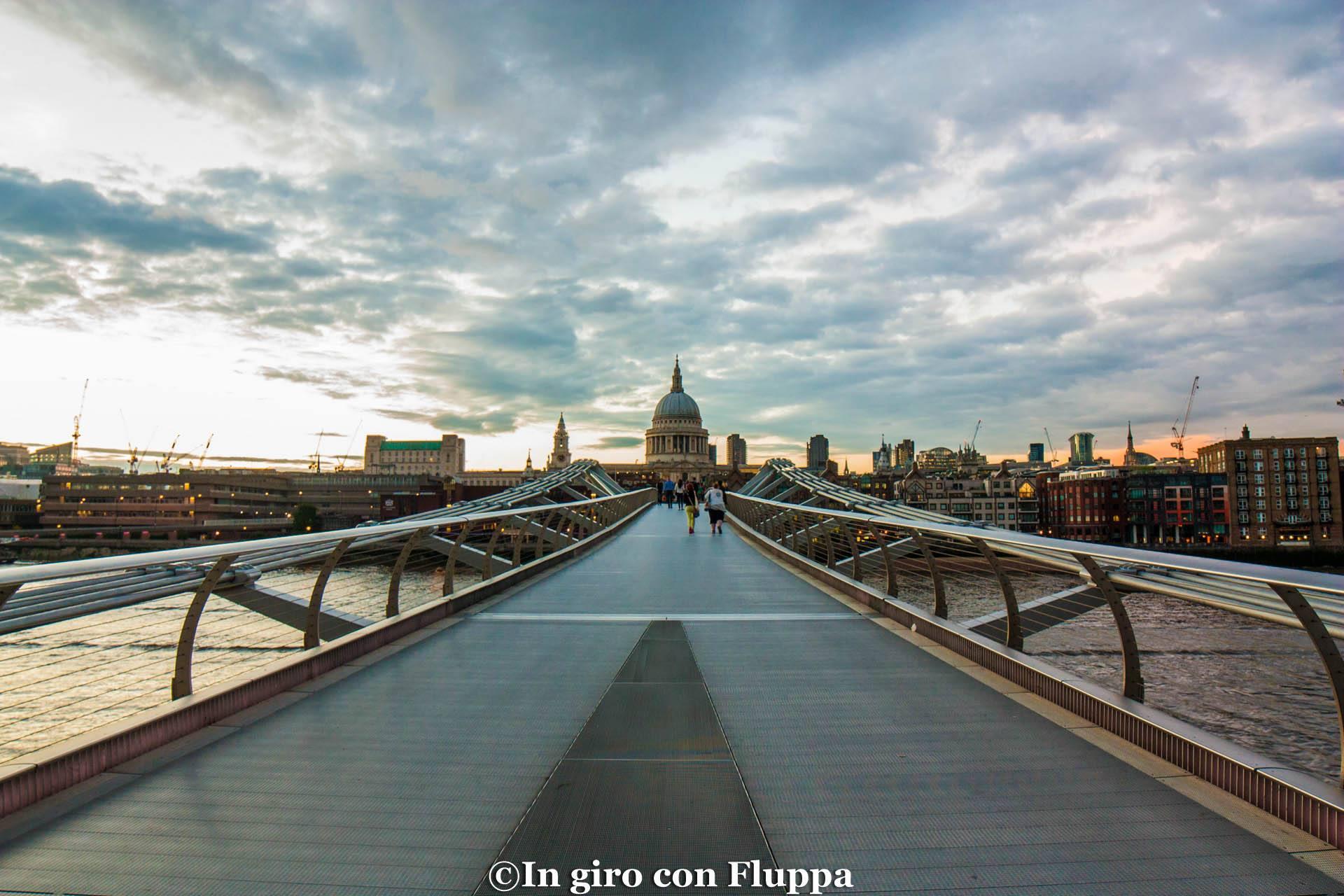 Itinerario 1: Millennium Bridge