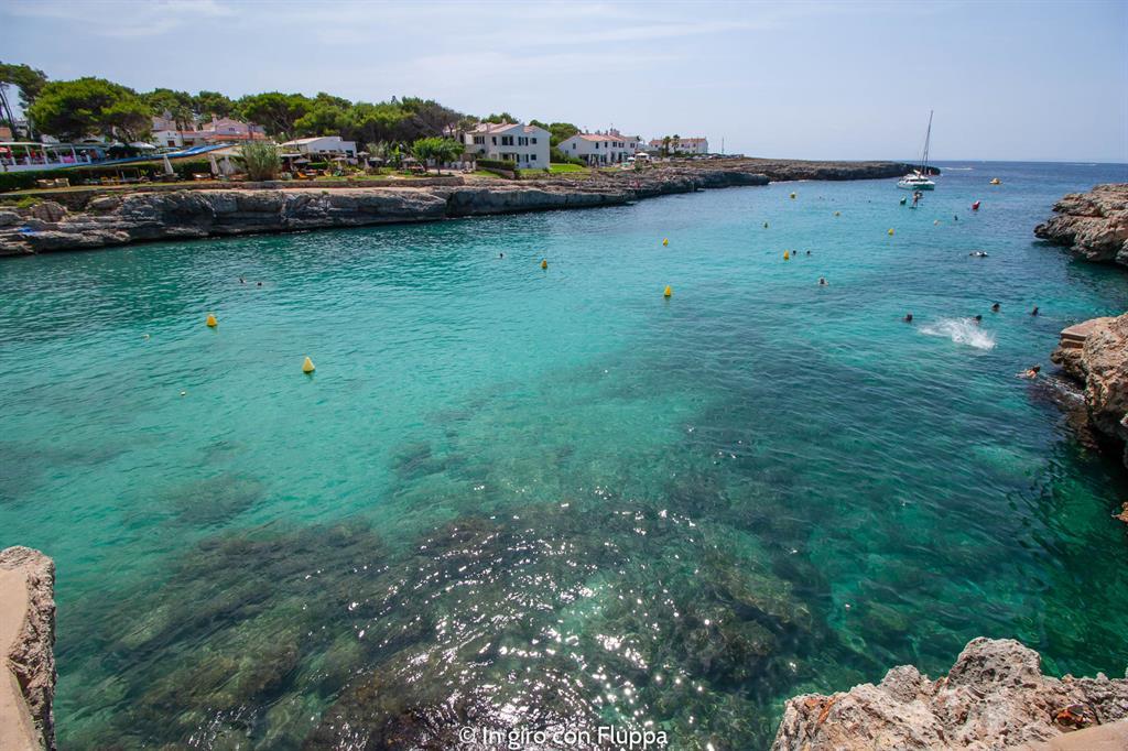 Un weekend a Minorca: Cala Blanca