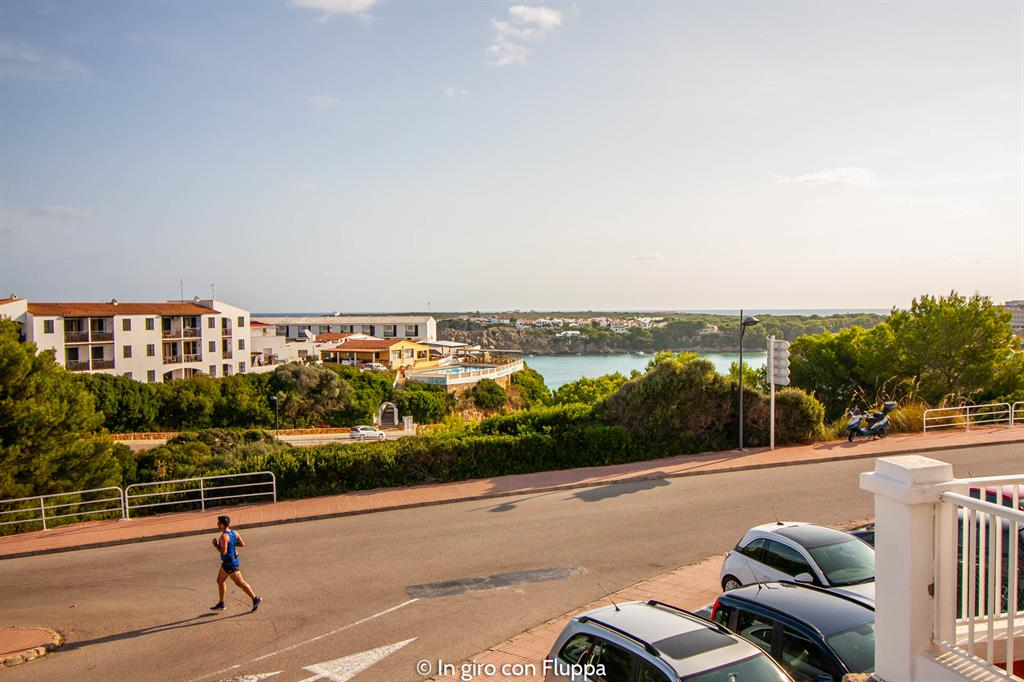 Un weekend a Minorca: Castell Sol, vista dal balcone del nostro appartamento
