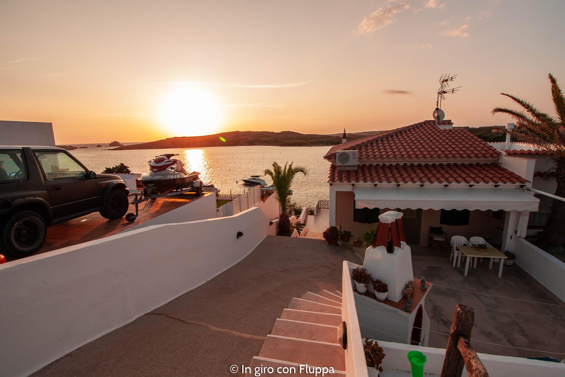Un weekend a Minorca: alba a Porto Addaia