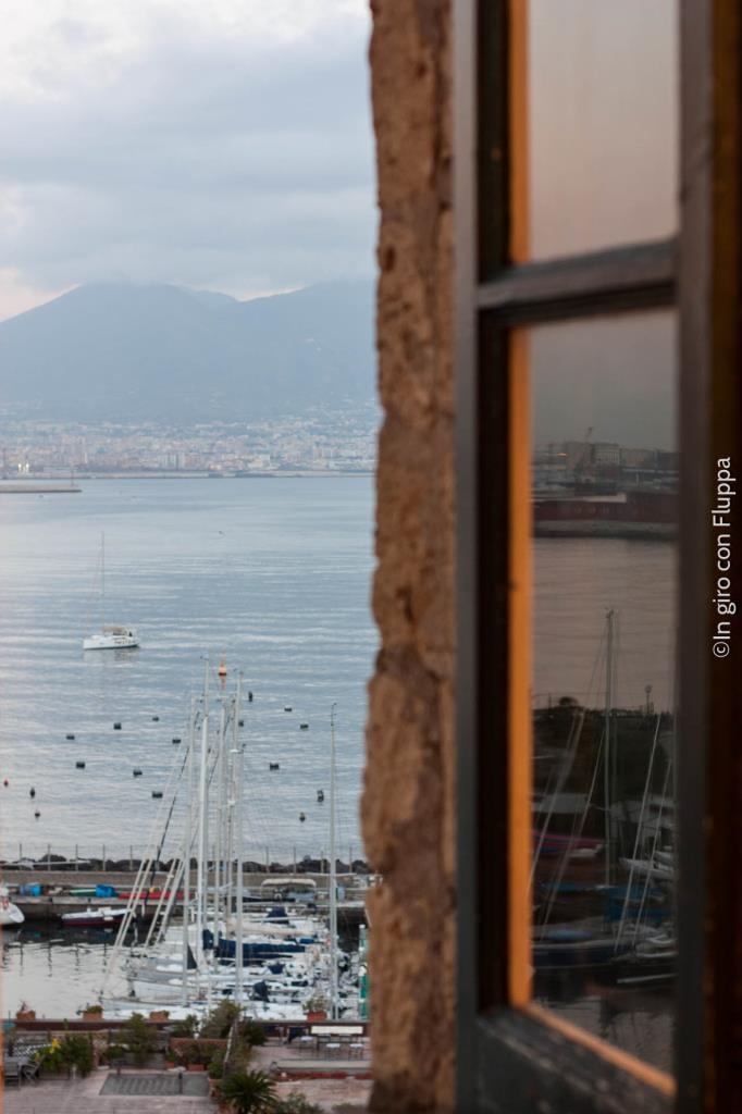 Mount Vesuvius seen from Castel dell'Ovo