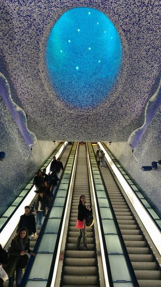 Metropolitana di Napoli - Stazione Toledo