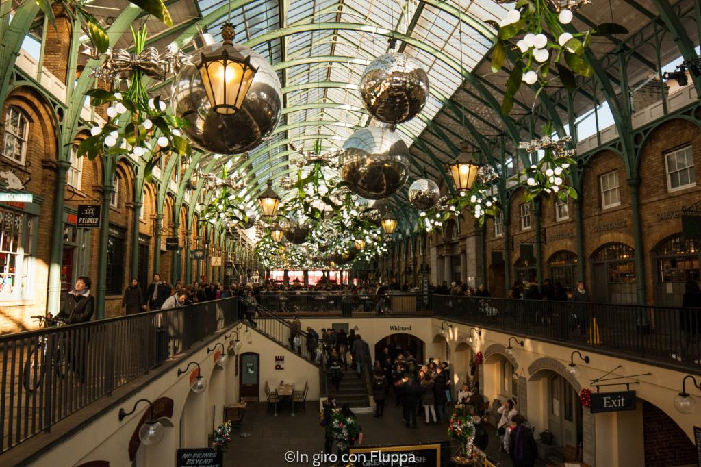Natale a Londra - Covent Garden