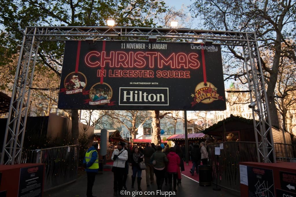 Natale a Londra - Leicester Square