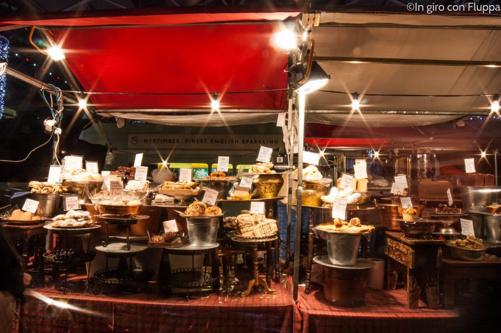Natale a Londra - Spietalfields Market