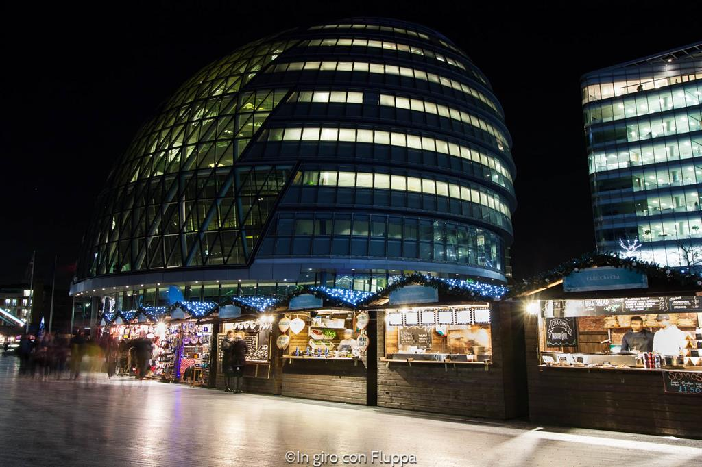 Natale a Londra - City Hall