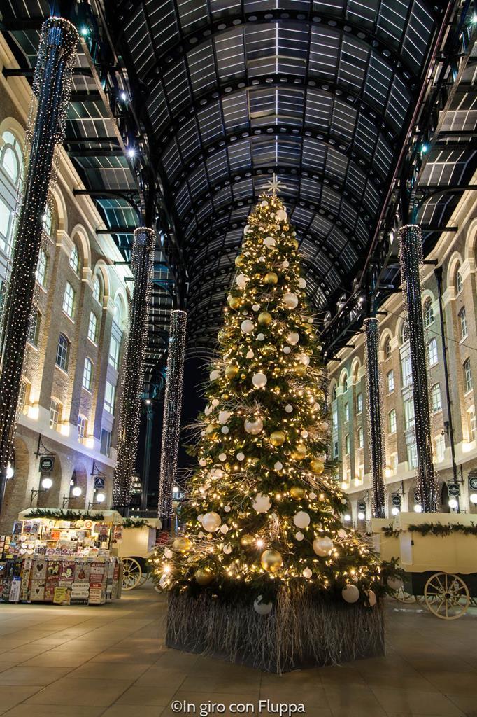 Natale a Londra - Hay's Galleria
