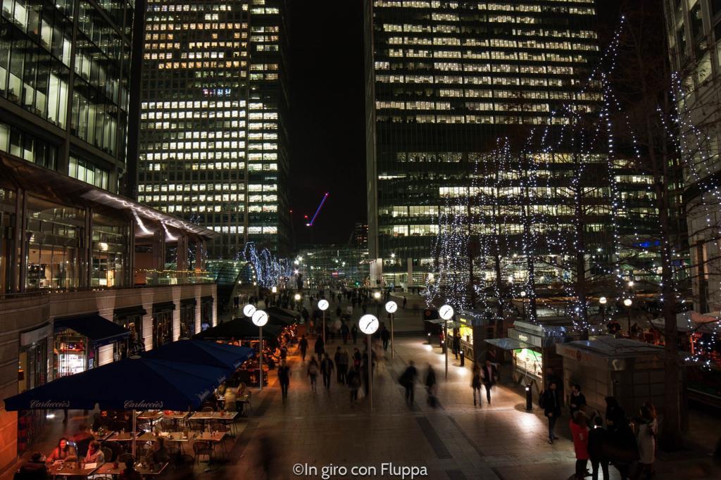 Natale a Londra - Canary Wharf