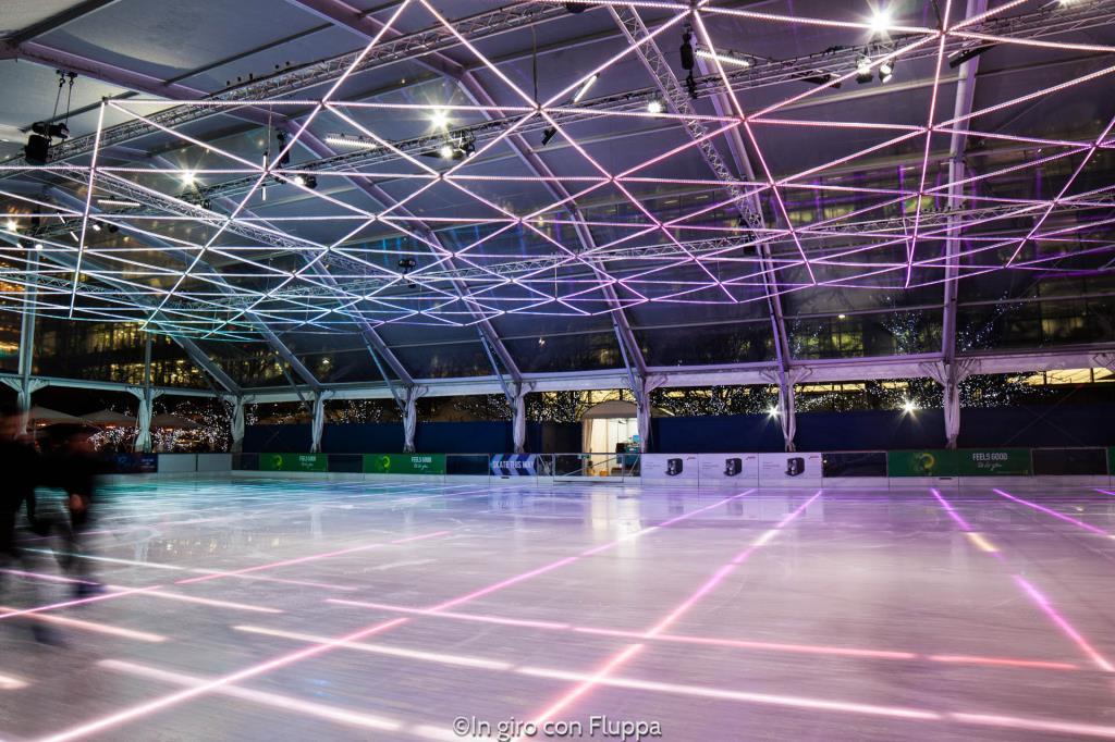 Natale a Londra - Canary Wharf Ice Rink