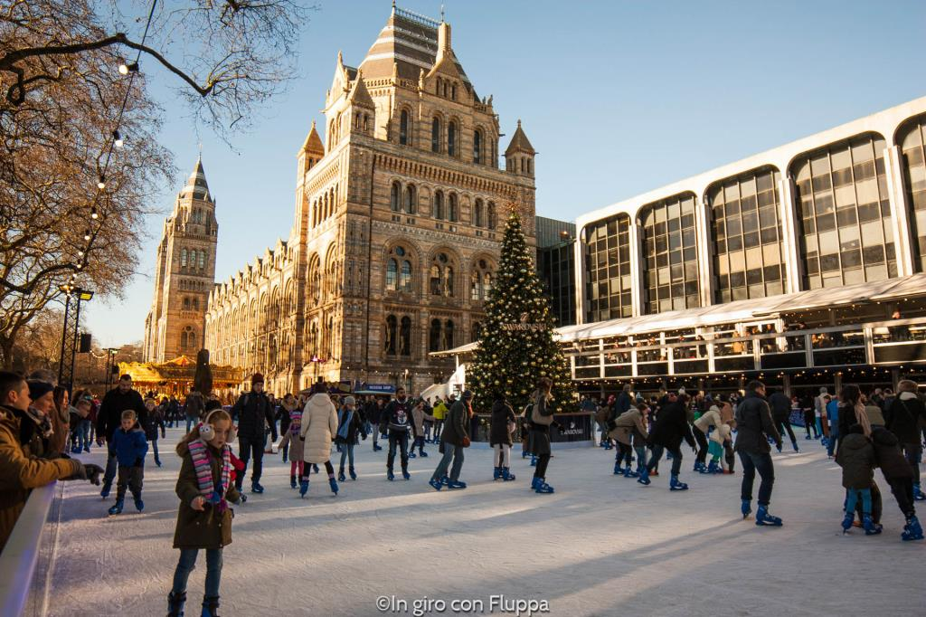 Natale a Londra - Natural History Museum Ice Rink