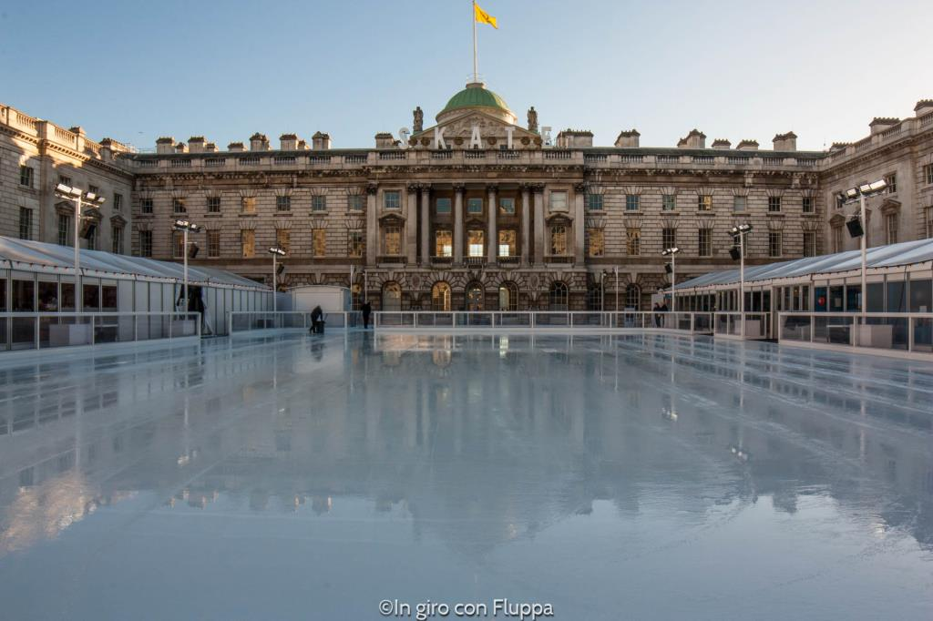 Natale a Londra - Somerset House Ice Rink