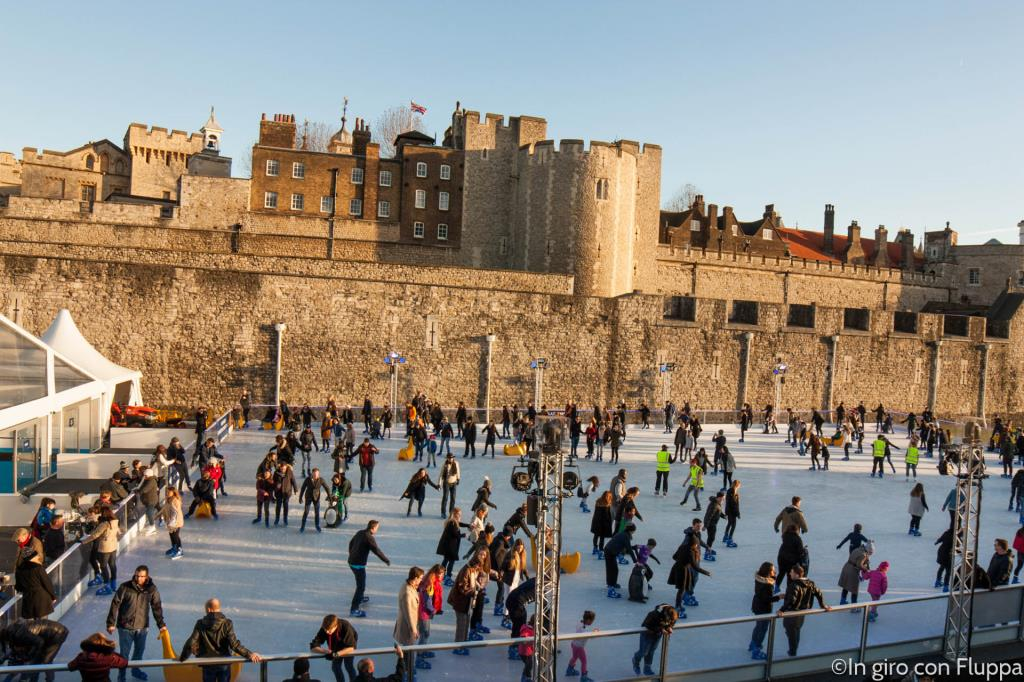 Natale a Londra - Tower of London Ice Rink