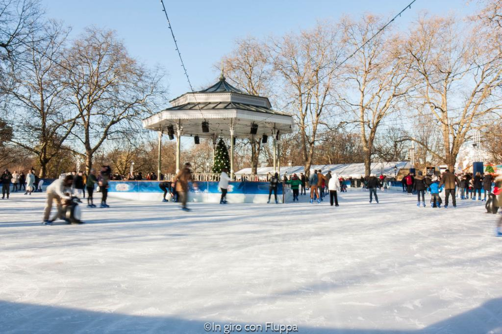Natale a Londra - Winter Wonderland Ice Rink
