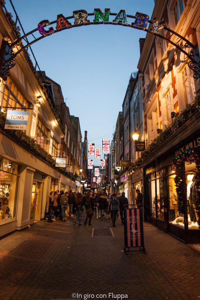 Natale a Londra - Carnaby