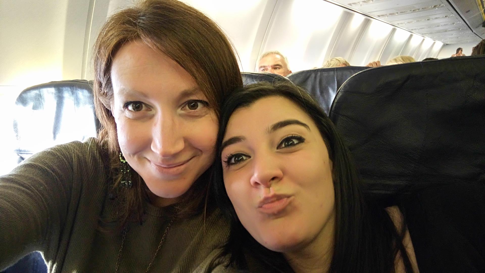 Io e Vale in volo per Norimberga!