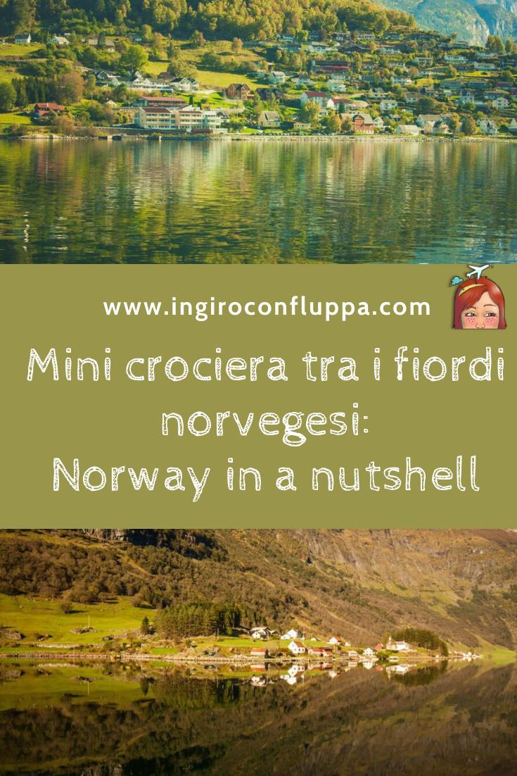 Mini crociera tra i fiordi: Norway in a Nutshell. Salva il post su Pinterest!