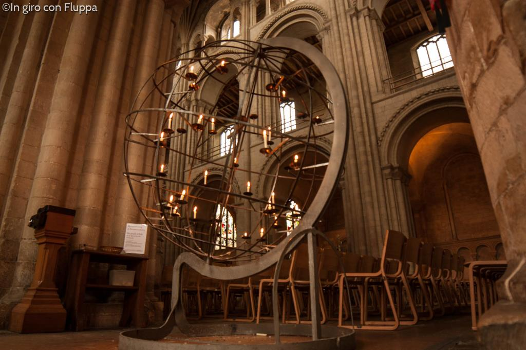 Norwich Cathedral - the peace globe
