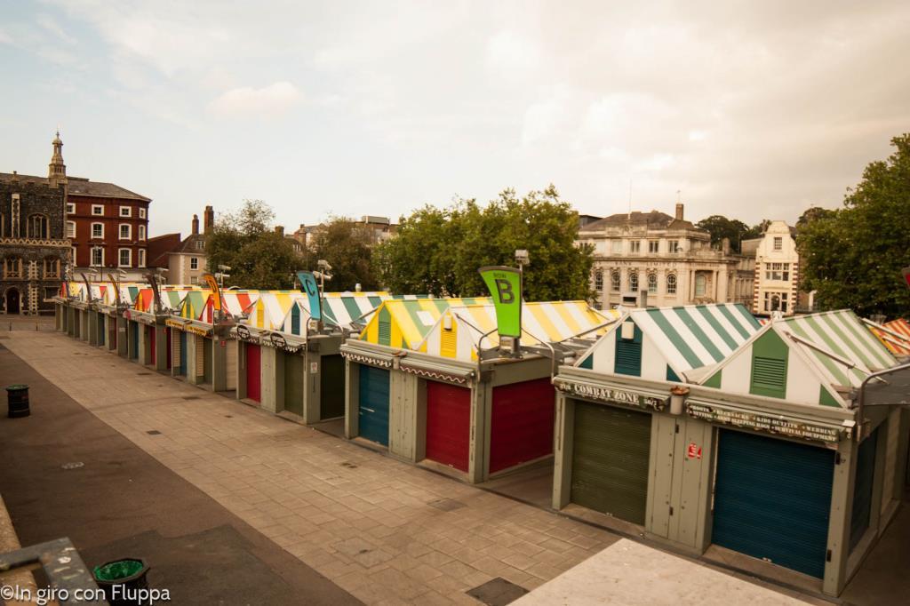 Il mercato di Norwich